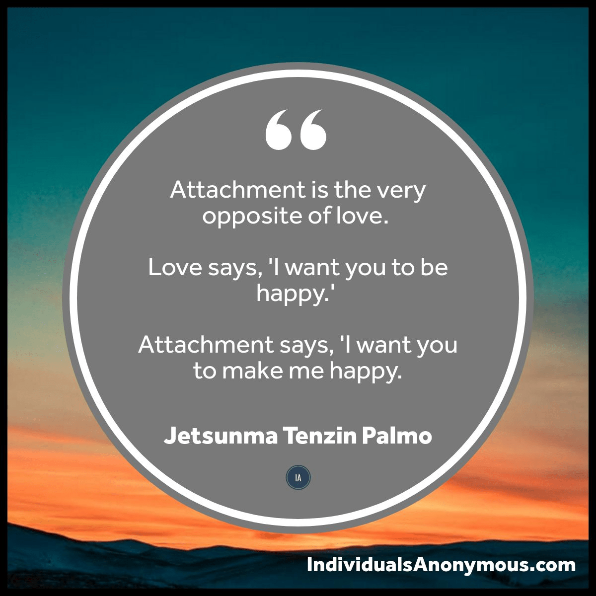 Love vs Attachment